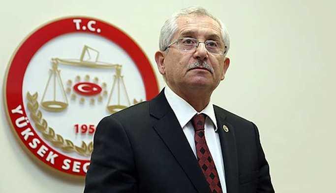 YSK Başkanı Sadi Güven'den kritik seçim açıklaması