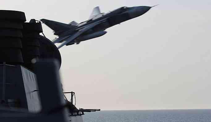 'ABD savaş gemisi, Karadeniz'de gösteriş peşinde'