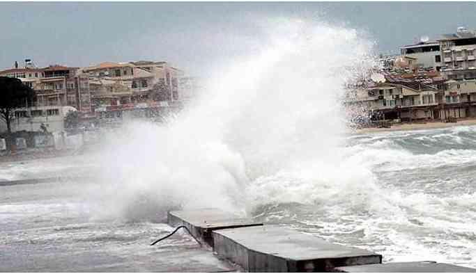 Antalya'da fırtına uyarısı
