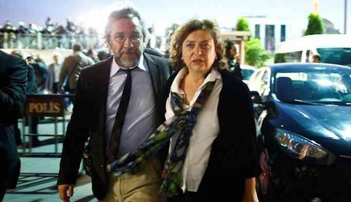 Can Dündar'ın eşi Dilek Dündar: Pasaportuma el kondu, eşime karşı rehin tutuluyorum