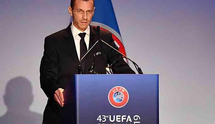 Ceferin yeniden UEFA başkanı