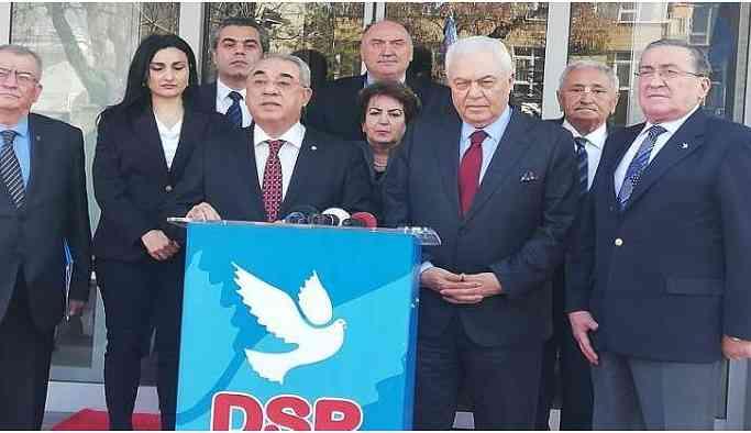 Celal Doğan Antep için DSP'den adaylığını açıkladı