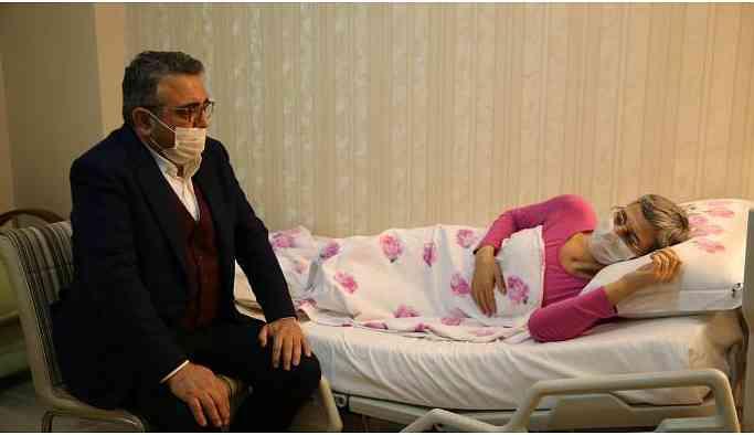 CHP'li Tanrıkulu Leyla Güven'i ziyaret etti