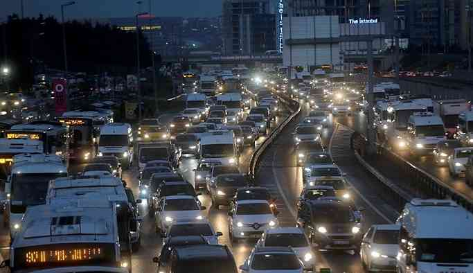 Dünyada en çok trafik sıkışıklığı yaşanan şehirler' listesinde Moskova birinci, İstanbul ikinci sırada