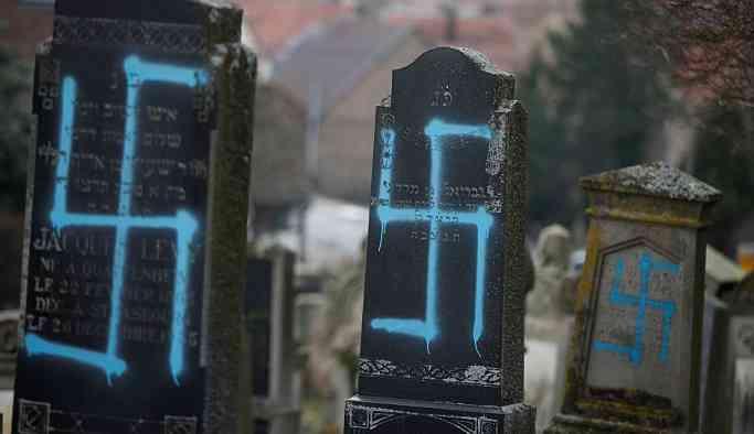 Fransa'da Yahudi karşıtlığına karşı ulusal çapta alarm