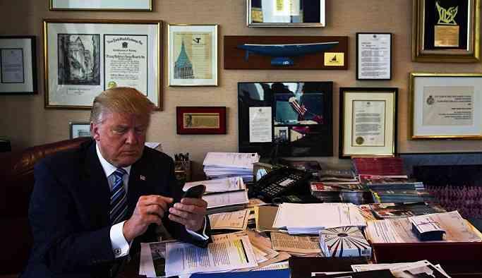 'Gelmiş geçmiş ABD Başkanlarının hepsinden fazla çalışıyorum'