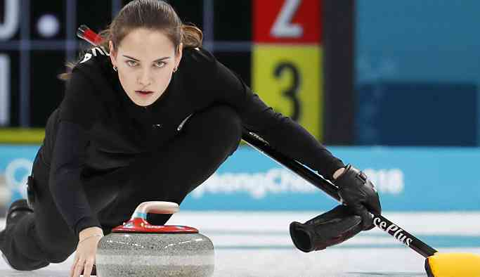 Güzel curlingci Brizgalova 'Lara Croft' oldu