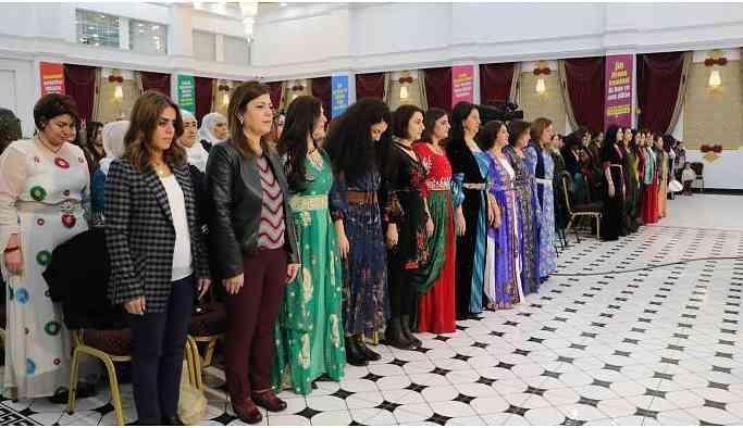 HDP Kadın Seçim Beyannamesi'ni açıkladı: Birlikte inşa ederek gerçekleştiriyoruz