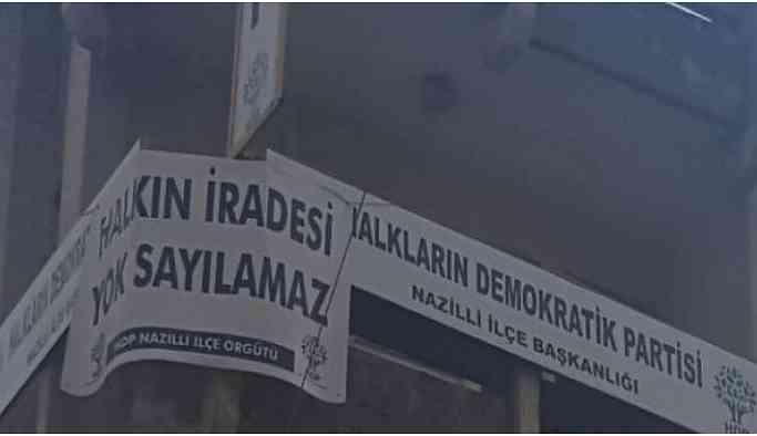 HDP Nazilli binasına polis baskını: Eşbaşkan gözaltına alındı