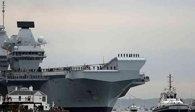 İngiltere, Pasifik Okyanusu'na uçak gemisi yollayacak: İngiliz ve ABD F-35'lerini taşıyacak