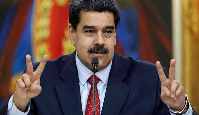 Maduro'dan sosyalizmi hedef alan Trump'a yanıt: Nazi tarzında