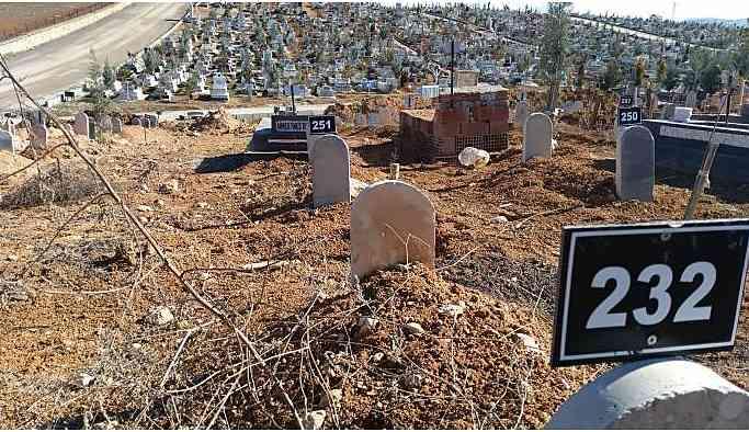 Malatya'da 200 cenaze kimsesizler mezarlığında