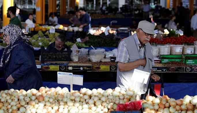 Merkez Bankası: Enflasyonu sebze-meyve fiyatlarındaki artış yükseltti