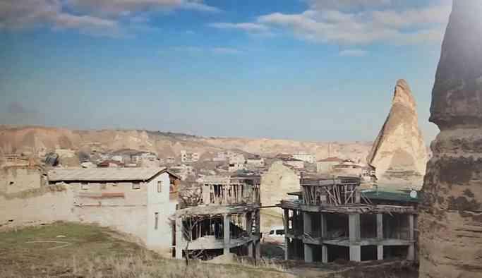 Peribacalarında otel inşaatı: 'Kaçak değil ruhsat verdik, çamur atmak yanlış'