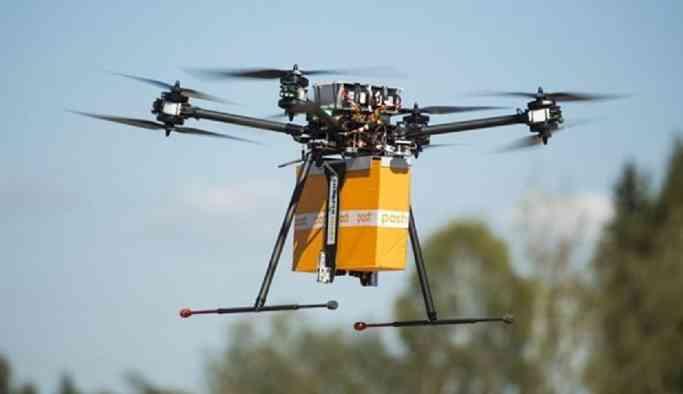 PTT, drone ile kargo dağıtmaya başlıyor