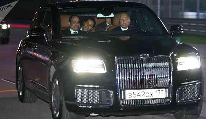 Putin'in limuzininin üreticisi Aurus ön siparişleri almaya başladı