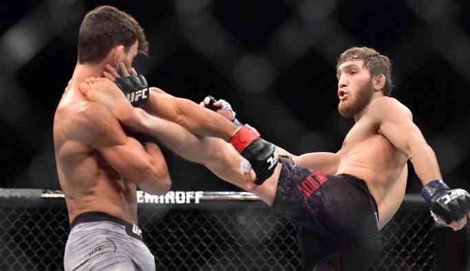 Said Nurmagomedov, Rusya'nın yeni UFC yıldızı olma yolunda