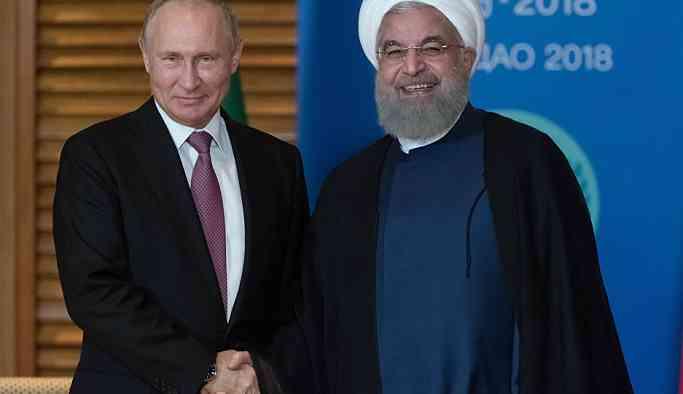 Soçi'de Putin-Ruhani görüşmesi başladı