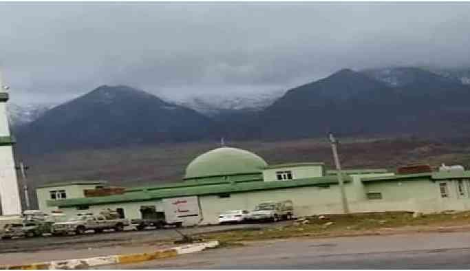 TSK'ye tahsis edilen köy camisi askeri üsse çevrildi