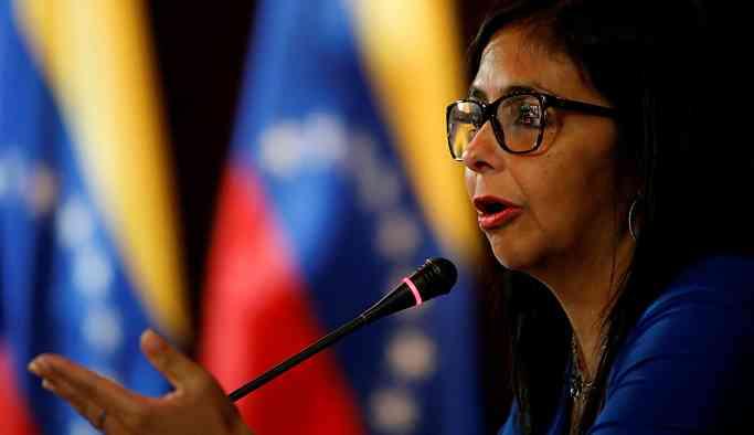 Venezüella Devlet Başkan Yardımcısı Rodriguez: ABD yardım adı altında bizi zehirleyecek
