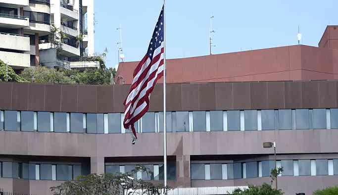 ABD'nin Caracas Büyükelçiliği'ndeki bayrağı kaldırıldı