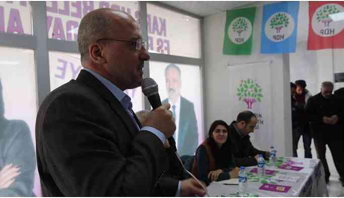 Ahmet Şık: Kars'ın kültürel zenginliği HDP'yi yansıtıyor