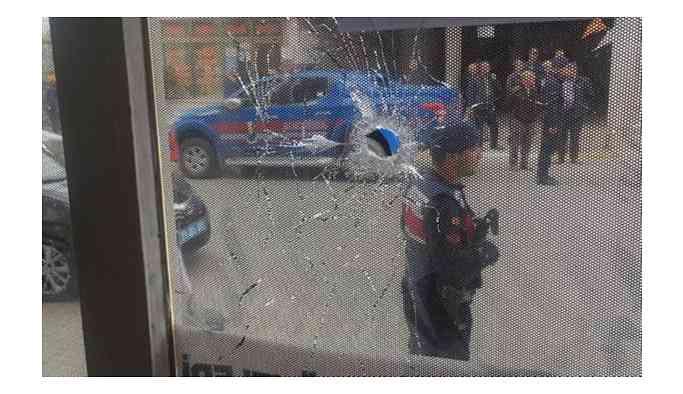 AKP seçim bürosuna pompalı tüfekle ateş açıldı