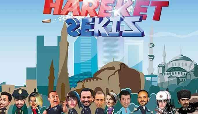 Ali Sunal ve Onur Atilla'lı polisiye komedisi 'Hareket Sekiz'in çekimleri başlıyor