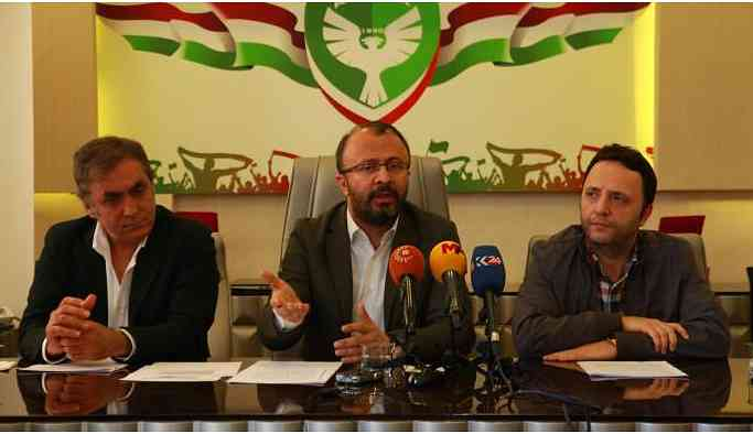 Amedspor: PFDK siyasi saiklerle karar verdi