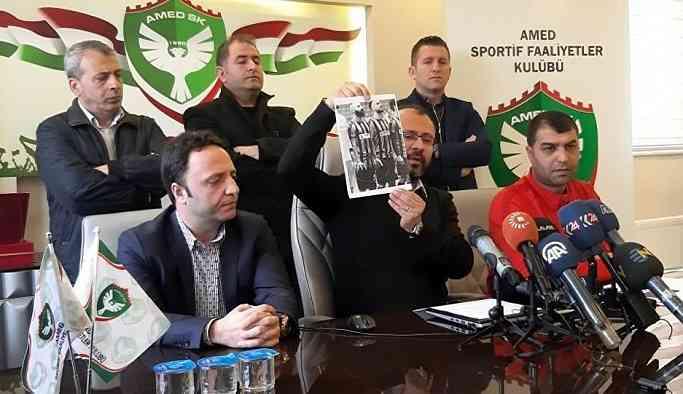 Amedspor'dan 'kesici alet' açıklaması