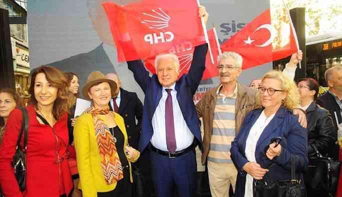 CHP'nin Şişli adayı Keskin: AKP ve DSP'nin açık ara önündeyiz