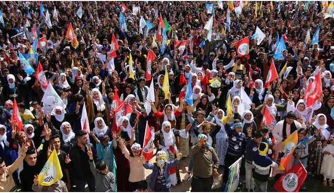 Cudi eteklerinde Newroz coşkusu: Direne direne kazanacağız