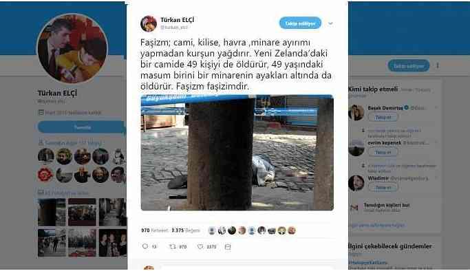 Elçi: Faşizm 49 kişiyi de 49 yaşındakini de öldürür