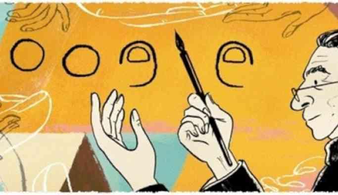 Google, Abidin Dino'nun 106. yaşını kutluyor