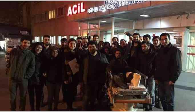 Gözaltına alınan öğrenciler serbest bırakıldı