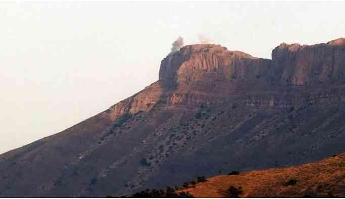 Hakkari'de üs bölgesine saldırı