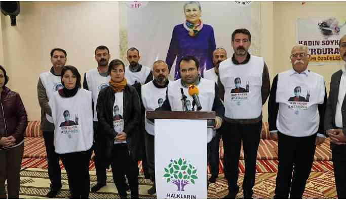 HDP Diyarbakır İl Örgütü'ndeki açlık grevcilerinden Yusuf Ateş tutuklandı