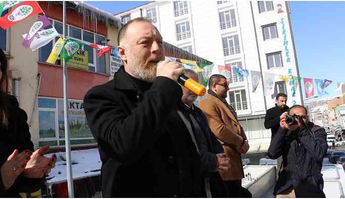 HDP Eş Genel Başkanı Temelli: Kars HDP'ye yakışır