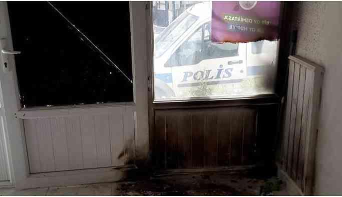 HDP Sapanca İlçe binasına saldırı