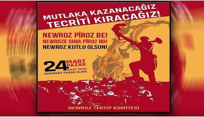 İstanbul Newroz'unun programı netleşti