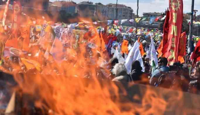 İstanbul'da Newroz Gözaltısı