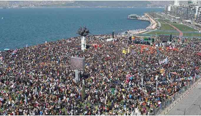 İzmir Newroz'u Gündoğdu Meydanı'nda kutlanacak