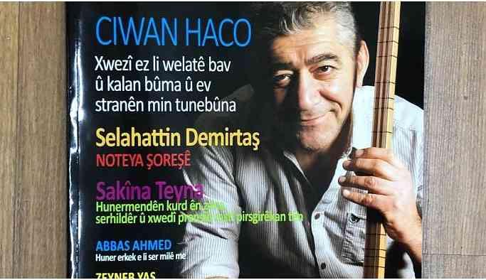 Kürtçe müzik dergisi Ziryab'ın ikinci sayısı çıktı