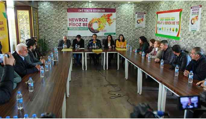 Newroz Tertip Komitesi'nden Newroz'a katılım çağrısı