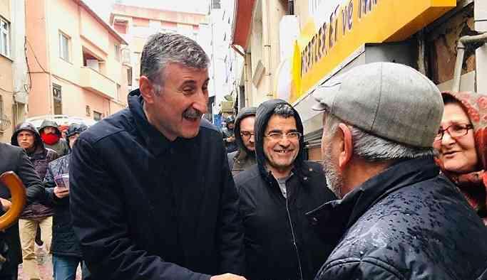 Taş: Biz burada esasen AKP'nin adayı ile yarışmıyoruz