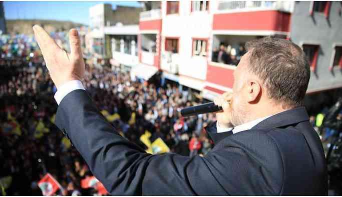Temelli: Seçimden önce Kürt kardeşlerim, sonrası Kurt işareti
