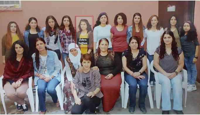 Zehra Sağlam'ın cenazesi jandarma ablukasında defnedildi