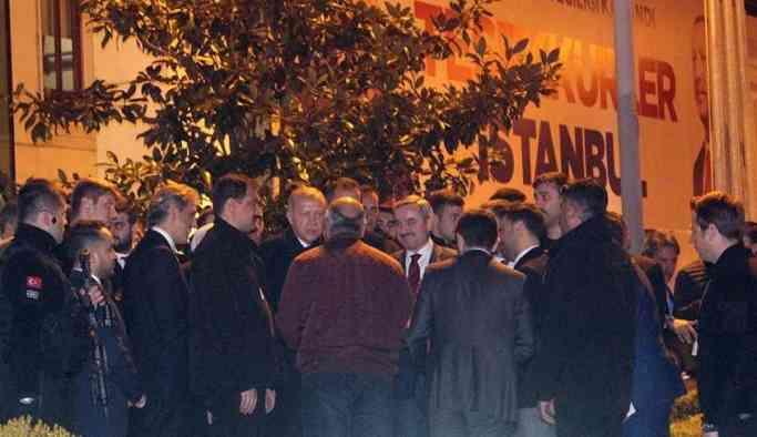 Erdoğan İBB meclis üyeleri ile toplantı yaptı