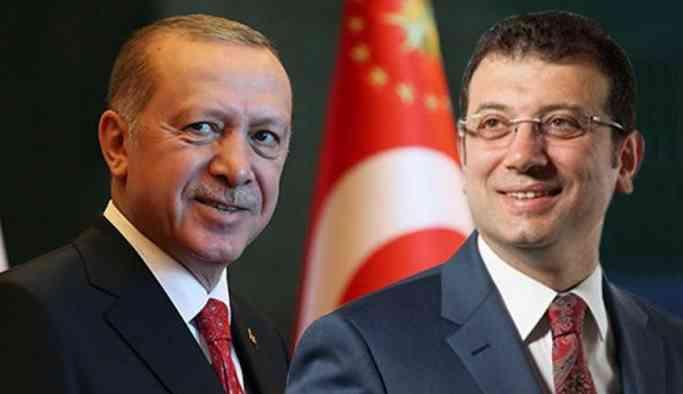 İBB Başkanı İmamoğlu Erdoğan'ı havalimanında karşıladı