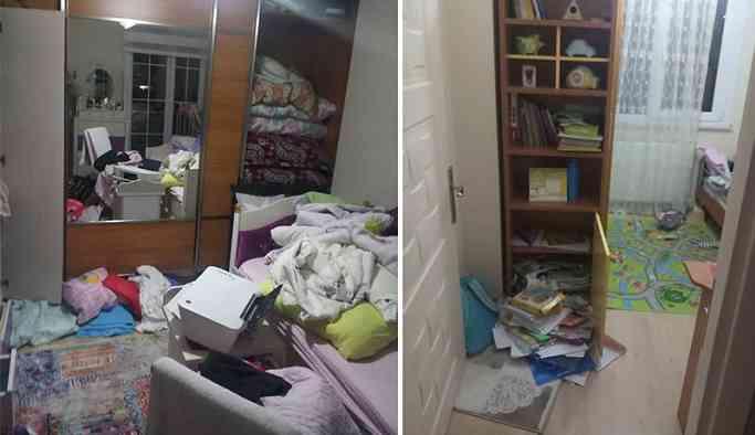 Maltepe'de HDP'lilerin evlerine baskın